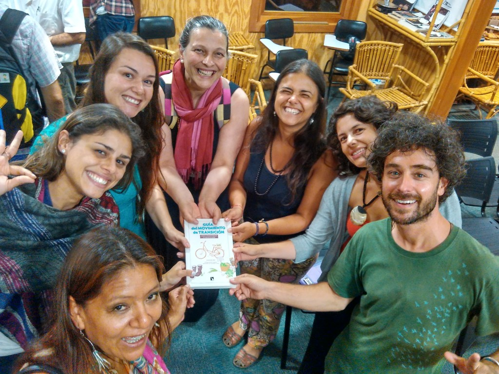 La guía del movimiento de transición llega a brasil